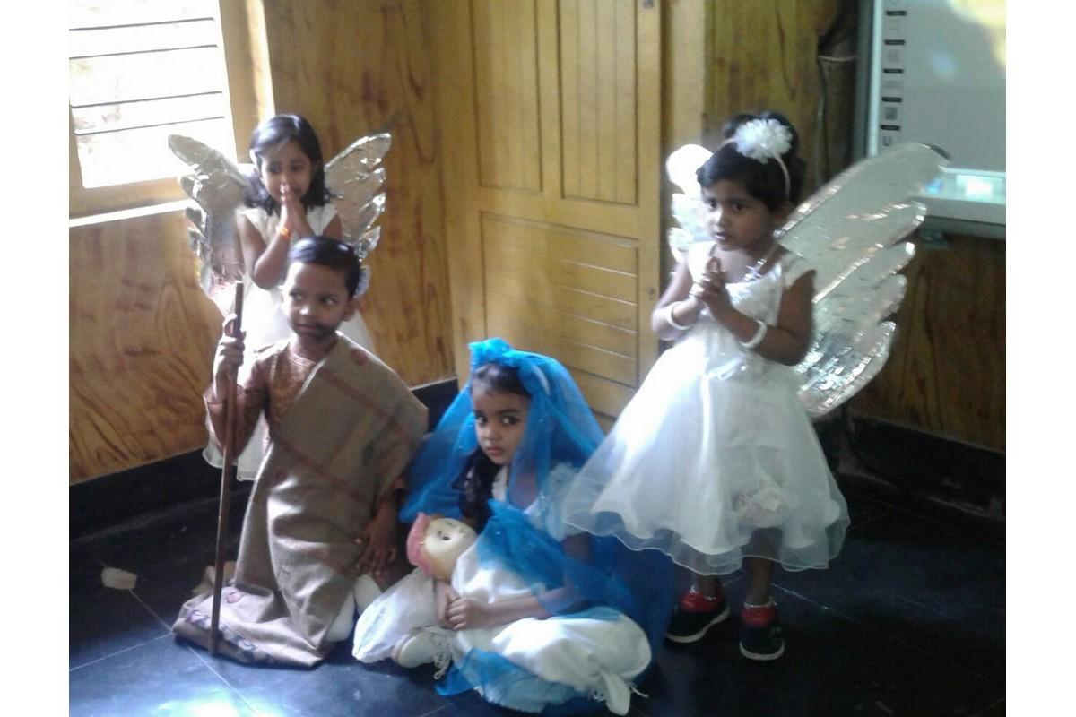Celebrazioni nella Scuola materna Venerini di Cheruvannur