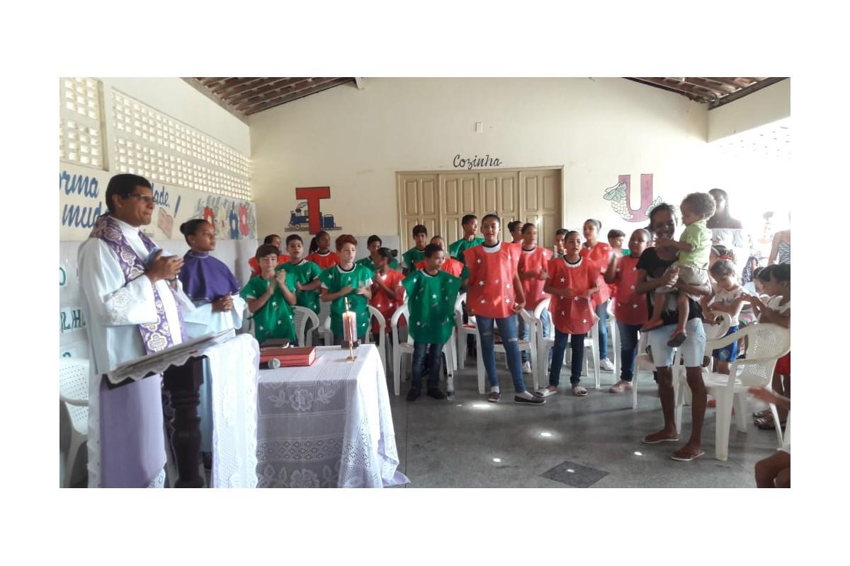 Lagarto (Brasile) - Festa per la fine dell'anno scolastico